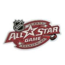 2011 NHL ALL STAR GAME JERSEY PATCH CAROLINA HURRICANES