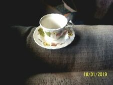 VTG METLOX VERNON WARE AUTUMN LEAVES CUP AND SAUCER VGC