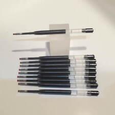 10 TERZETTI BLACK GEL REFILLS-FINE PARKER-CLEAR PLASTIC+FREE PEN