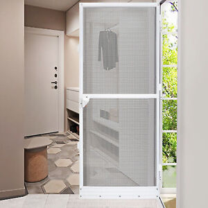 Fliegengitter Insektenschutz Alu Rahmen Mückengitter Gitter Tür Magnet Balkon DE