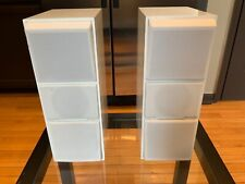 Bang & Olufsen Beovox CX100 Passive Speakers 'White/Newly Refoamed/2nd Listing'