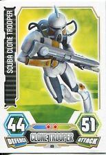Star Wars Force Attax Series 3 Card #49 Scuba Clone