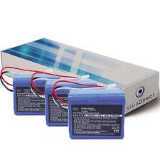 Lot de 3 batteries 7.2V 1500mAh pour iRobot Mint Plus 5200C