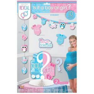 Forum Novelties Party Decorating Kit, Gender Reveal, One Size