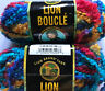 Lion Brand Boucle Yarn 1 Plus Skein Jelly Bean Col 203 Lot 52888