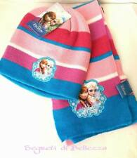 FROZEN CAPPELLO + SCIARPA BAMBINA by DISNEY COLOR ROSA, FUCSIA E TURCHESE