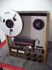 TEAC A 7300 2 TRACK DECK REEL TO REEL.