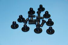 AUDI A4 A6 A8 Black Interior Side Skirt Rivet Fender Liner Fastener Trim Clips