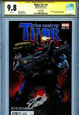 Mighty Thor Vol 2 18 CGC 9.8 SS Stegman variant Stan Lee Aaron 1 of 3 on census