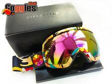 Rare Electric EG2.5 B4BC Snow Goggles Bronze/ Pink Chrome Lens Ski Snowboard
