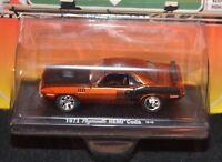 M2 Machines Car Auto drivers 1971 Plymouth HEMI Cuda Muscle Car