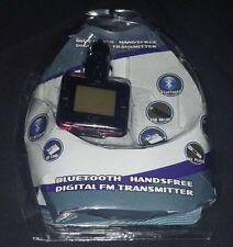 Bluetooth Manos Libres Transmisor Digital FM