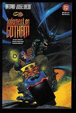 BATMAN - JUDGE DREDD: Judgment on Gotham TPB GN (DC 1991)  NEW UNREAD NM