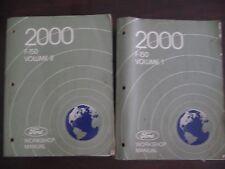 Ford 2000 F-150 Workshop Manuals Volume 1 & 2