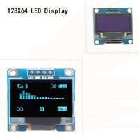 "0.96"" I2C IIC Serial 128X64 OLED LCD LED Display Module for Arduino H"