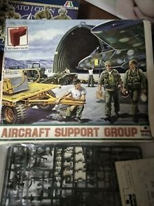 ESCI 1/48- AIRCRAFT SUPPORT GROUP- NUOVO
