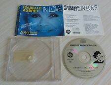 CD MAXI SINGLE 2 TITRE ISABELLE AUBRET IN LOVE FOR SALE STELLA BY STARLIGHT 1991
