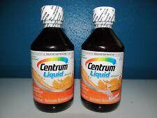 Centrum Adult Liquid Vitamin C D B A E Multi Gummies LOT 2X8=16 oz Energy 3&5/20
