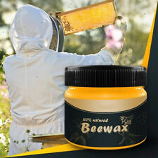 Wood Seasoning Beewax Complete Furniture Solution Care Polish Beeswax Paste NEW