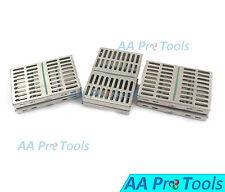 "AA Pro: 6 Sterilization Cassettes 7"" X 5"" Surgical Medical Dental Instruments"