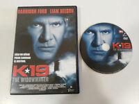 K-19 K19 Harrison Ford Liam Neeson DVD Espagnol English Scellé New Neuf