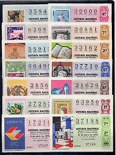 España Loteria Nacional Ilustraciones Filatelicas año 1975 (CC-288)