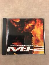 Mission Impossible 2 Movie Soundtrack CD Like New