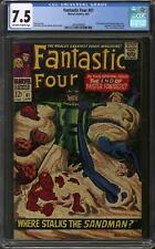Fantastic Four #61 CGC 7.5 (OW-W)
