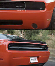 Fits 08-14 Challenger GTS Acrylic Smoke Headlight Driving Taillight Covers 7pc