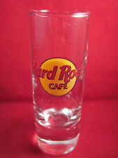 HardRock Cafe London Shot Glass 4 1/4""