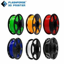 More details for flashforge 3d printer printing filament 1.75mm pla 0.5kg with spool uk stock