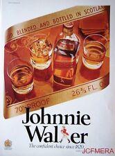 1977 Johnnie Walker 'Red Label' Scotch Whisky Advert #4 - Original Print AD