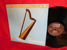 ED LANGE NAD HIS TRIO ANDENO Paraguayan Harp Vol II LP USA 1977 MINT-