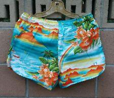 Vintage Hang Ten 70s Hawaiian Swimming Trunk Shorts Men Size M