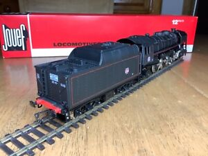 Jouef HO Gauge 8273 SNCF 2-8-2 Class 141R Oil Fired Locomotive depot Miramas