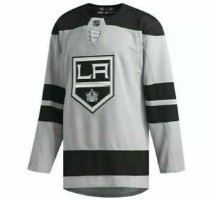 Adidas Los Angeles LA Kings Stitched Authentic Hockey Jersey Size 46 DP9108
