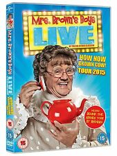 Mrs. Brown's Boys Live: How Now Mrs. Brown Cow [DVD] [2014] New Sealed Stand Up