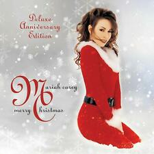 Mariah Carey Merry Christmas Deluxe Anniversary Edt. 2 CD Nuovo Sigillato Natale