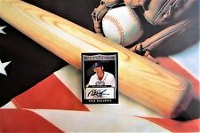 2007 Autograph Nick Hagadone Black Refractor # 1 of 25 Bowman Sterling Red Sox