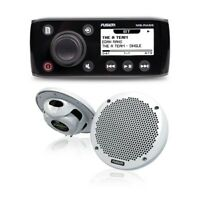 "Fusion MS-RA55KTS Marine Stereo Kit with Pair of EL-602 6"" Speakers 010-01716-10"