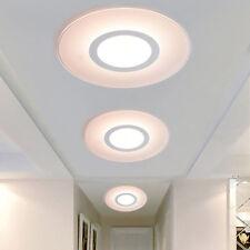 Modern Round Acrylic LED Ceiling Light Living Room Bedroom Home Lighting Lamp 1