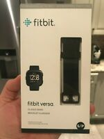 Fitbit Versa Classic BAND ONLY Black Small Brand New AUTHENTIC