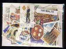 Malte - Malta 100 timbres différents