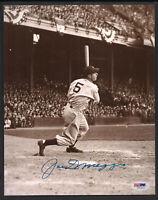 Joe DiMaggio Signed 8x10-PSA/DNA-Baseball Hall of Fame New York Yankees D-1999