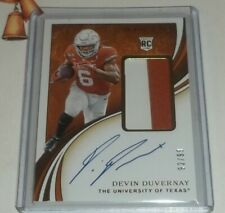 2020 IMMACULATE DEVIN DUVERNAY 2 COLOR RPA RC  /99 -  Texas