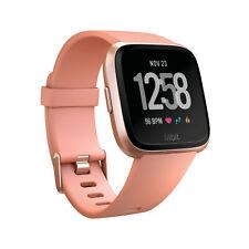 Fitbit Versa Smartwatch Peach/Rose Gold Aluminum