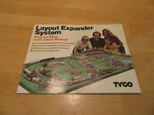 TYCO 1975 LAYOUT EXPANDER SYSTEM BOOKLET 32 PAGES STEP BY STEP INSTRUCTIONS