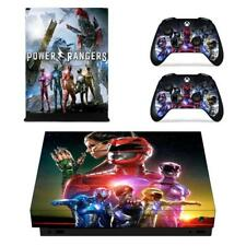 Power Rangers Xbox one X Console Controllers Vinyl Skin Decals Stickers Covers