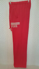 NWOT Victoria's Secret PINK Boyfriend Pants Red S