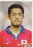 sticker football Lee Min Sung Busan FIFA WC South Korea Japan 2002 Bonart YUG